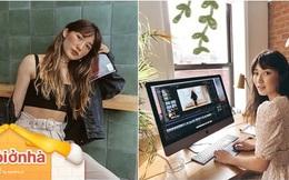 Youtuber xinh đẹp sở hữu 3 triệu subs chia sẻ cách ở nhà vẫn giải quyết công việc vèo vèo, lời khuyên số 3 bất ngờ nhất