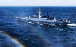 Đội tàu chiến tối tân của Nga tập trận rầm rộ trên biển