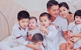 Hoa hậu Oanh Yến chính thức hạ sinh con trai thứ 6 cho chồng đại gia: Gia đình đông thành viên số 1 Vbiz là đây!