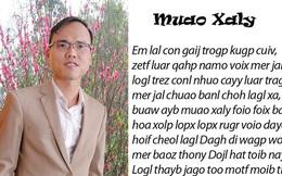 Cha đẻ bộ 'Chữ VN song song 4.0': 'Bộ Giáo dục có thể cũng đã hiểu sai'