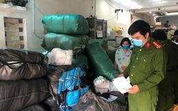 Phát hiện vụ tập kết hàng chục nghìn sản phẩm vật tư y tế 'có vấn đề'