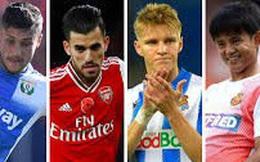 Đội hình đầy tài năng đang được Real Madrid cho mượn khắp châu Âu