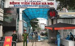 Tổ chức 2 chốt kiểm soát cách ly tại Bệnh viện Thận Hà Nội