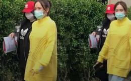 """Trần Kiều Ân tiếp tục vướng nghi vấn bầu bí: Mặc áo rộng thùng thình, tăng cân """"không hề nhẹ"""""""