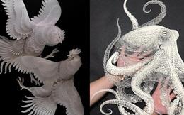 Mãn nhãn với nghệ thuật Kirigami của Nhật Bản: Khả năng sáng tạo vô hạn của con người đã thổi hồn vào những tờ giấy vô tri mỏng manh