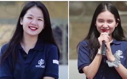 2 nữ sinh trường quốc tế được chú ý khi xuất hiện trên show truyền hình: Mặc đồng phục giản dị nhưng xinh đẹp khó rời mắt