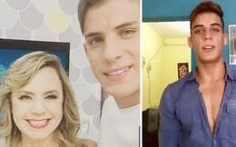 """Trước khi công khai mối tình chênh 30 tuổi với mẹ của Neymar, trai đẹp cơ bắp từng """"phát điên"""" vì một nữ BTV, khoảng cách về tuổi tác thậm chí còn xa hơn"""