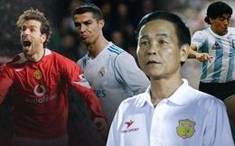 """Bóng đá Việt Nam từng có tiền đạo """"khôn bóng"""" như Van Nistelrooy, bật nhảy hệt Ronaldo và được mến mộ chẳng kém Maradona"""
