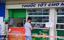 Hà Nội yêu cầu tạm đình chỉ các nhà thuốc không tuân thủ đúng quy định giãn cách xã hội