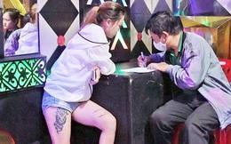 Bắt 30 dân bay lắc tàng trữ ma túy trong quán karaoke