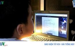 Học trực tuyến mùa dịch Covid-19: Bảo vệ đôi mắt của trẻ như thế nào?