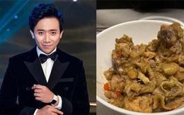 Trấn Thành trổ tài nấu nướng món ngon cho Hari Won giữa mùa dịch, mà cách bài trí đồ ăn sao cứ thấy sai sai