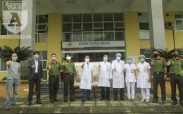 Món quà ý nghĩa tặng bệnh viện tuyến đầu nơi tâm dịch Covid-19 Hạ Lôi