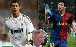 Sir Alex suýt biến Ronaldo thành đồng đội Messi