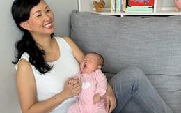 """Chia sẻ khoảnh khắc đẹp bên con gái, Shark Linh lại bật mí sự thật """"đau đớn"""" phía sau khiến nhiều mẹ bỉm sữa đồng cảm"""