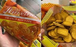 Món bánh quy cam chứa đựng cả bầu trời tuổi thơ của thời học sinh, nhắc lại mà dân mạng chỉ biết sụt sùi muốn được ăn lần nữa