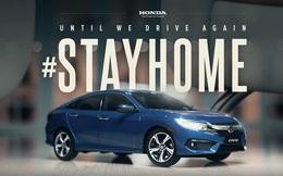 Chất như quảng cáo Honda Civic thời cách ly: Dùng mô hình chạy khắp nhà nhưng không khác gì xe lướt qua từng con phố