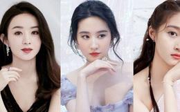 Top 5 mỹ nhân Cbiz đẹp tự nhiên không chỉnh sửa: Lưu Diệc Phi huyền thoại, Triệu Lệ Dĩnh cạnh tranh gay gắt với đàn em