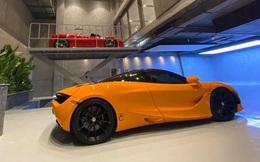 Lộ diện garage mới của Cường 'Đô-la': Không khác gì showroom siêu xe sang chảnh