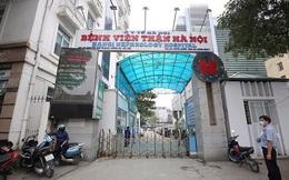 Dỡ phong tỏa Bệnh viện Thận Hà Nội từ 16h30 chiều nay