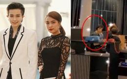 """Quay clip khám phá nhà mới của Hoàng Thùy Linh, Minh Hằng vô tình để lọt bóng dáng """"ai đó"""" nhìn quen quen"""