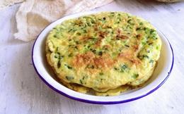 10 phút làm bánh trứng chiên ăn sáng ngon hết nấc