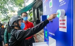 Hà Nội: Khai trương cây ATM thực phẩm miễn phí đầu tiên của Báo Người Lao Động tại 16F Phùng Hưng