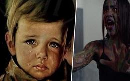 """Sự trùng lặp kỳ lạ về bức tranh """"Cậu bé khóc"""" bị nguyền rủa, cứ nhà nào treo thì gặp hỏa hoạn kinh hoàng cùng lời lý giải không thể thuyết phục hơn"""