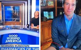 'Giấu đầu hở đuôi': Phóng viên Mỹ gặp sự cố tai hại ngay trên sóng truyền hình trực tiếp khi bị soi đang... không mặc quần