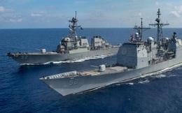 Trung Quốc khuấy động biển Đông, tàu chiến Mỹ tuần tra gần Trường Sa