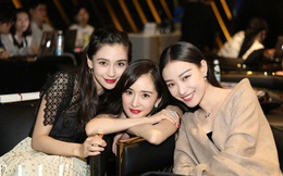 """Khi 3 tiểu hoa đán đứng chung khung hình: Dương Mịch, Angelababy quyến rũ hết phần thiên hạ, """"tình cũ Phùng Thiệu Phong"""" đơn giản nhưng không kém phần cuốn hút"""