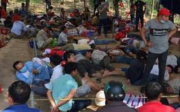 Triệt phá sòng bạc 'khủng' giáp ranh 3 tỉnh Đồng Nai, Bình Thuận, Lâm Đồng