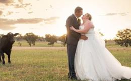 Đang chụp ảnh cưới bỗng có 'trẻ trâu' không mời nhảy vào phá đám, chú rể phải ra tay dọa kẻ phá hoại bỏ chạy 'tóe khói'