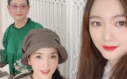 """Hiếm hoi lắm thiên kim tiểu thư nhà Hoa hậu Giáng My mới lộ diện, nhan sắc 3 thế hệ vàng khiến dân tình """"đứng hình"""""""