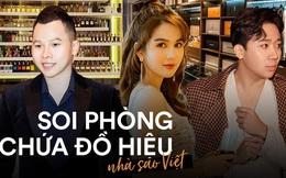 Soi phòng chứa đồ hiệu hoành tráng của sao Việt: Toàn sang trọng chẳng khác showroom đồ khủng, giá trị đến cả tỷ đồng
