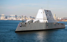 Điều gì cứu khu trục tàng hình siêu đắt của hải quân Mỹ khỏi thành đồ bỏ đi?