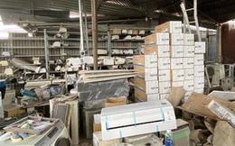 """""""Đánh úp"""" kho hàng điện lạnh nhập lậu quy mô lớn tại TP HCM"""