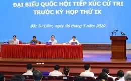 Cử tri cảm ơn thành phố Hà Nội đã chỉ đạo chống dịch Covid-19 hiệu quả