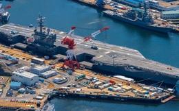 Siêu tàu sân bay Ronald Reagan của Mỹ tái xuất