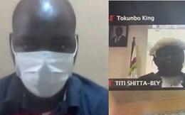 Người đàn ông Nigeria bị kết án tử hình qua Zoom