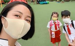 Sao Vbiz đưa con đi học sau kỳ nghỉ dịch: Nhà Ốc Thanh Vân rộn ràng từ 6 giờ sáng, con gái Hồng Quế vui quên cả chào mẹ