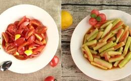 Hai món rau quả trộn chua ngọt làm nhanh cho bữa cơm ngày hè thêm ngon miệng