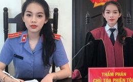 Xôn xao hình ảnh cô gái trẻ xinh đẹp ngồi vị trí Kiểm sát viên lẫn Thẩm phán và sự thật được nhân vật chính tiết lộ