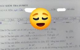 Nhìn đáp án bài kiểm tra của nữ sinh, cư dân mạng cười ngất vì một chi tiết lạ lùng