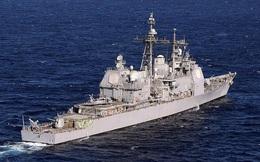 Hải quân Mỹ điều tra tàu tuần dương làm tràn hơn 15.000 lít dầu ra sông