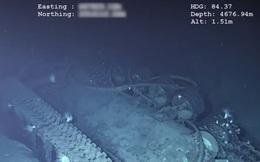 """Cận cảnh xác tàu chiến """"không thể chìm"""" của Mỹ từng qua 2 thế chiến"""