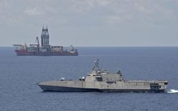 Hải quân Mỹ duy trì hiện diện gần tàu Hải Dương 8 của Trung Quốc trên biển Đông