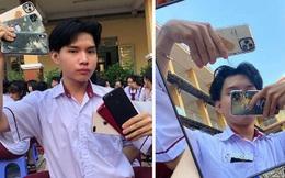 """Nam sinh lớp 12 học cô Minh Hiếu """"đi đường quyền"""" với dàn Iphone 11 Pro Max, XS Max xịn sò khiến dân mạng mắt tròn mắt dẹt"""