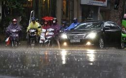 Miền Bắc đón không khí lạnh yếu, trời mưa dông