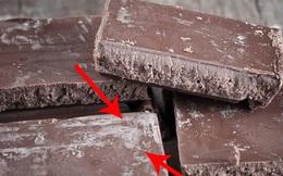 Phát hiện mảng trắng trên bề mặt chocolate, bạn ăn tiếp hay vứt bỏ? Đây là lời giải đáp!